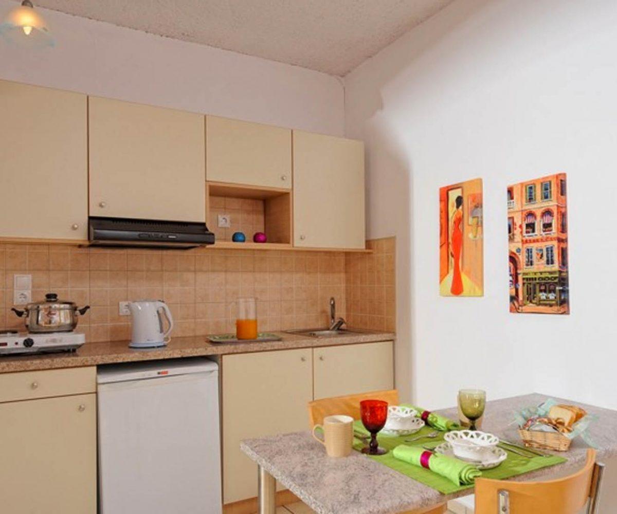 Standard Apartment Kitchen